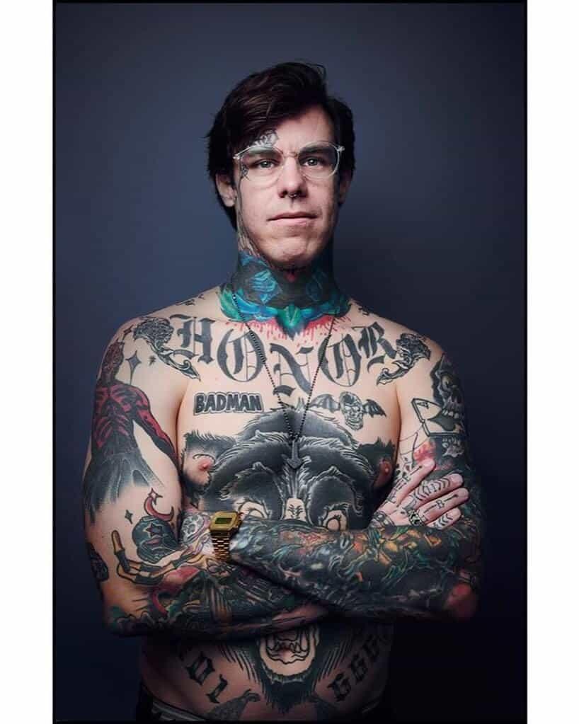 shayne smith double cross tattoo
