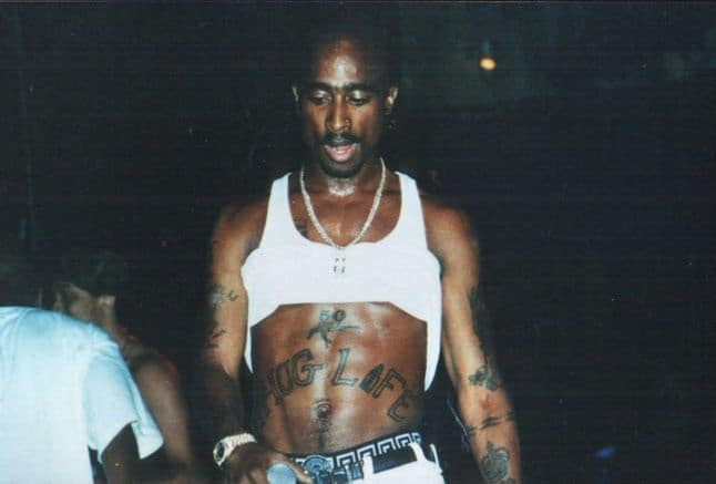 tupac shakur dada tattoo