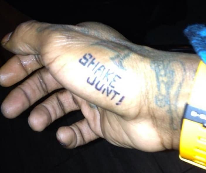 lil wayne shake junt and skateboard tattoo