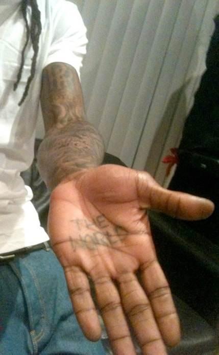 lil wayne the world tattoo