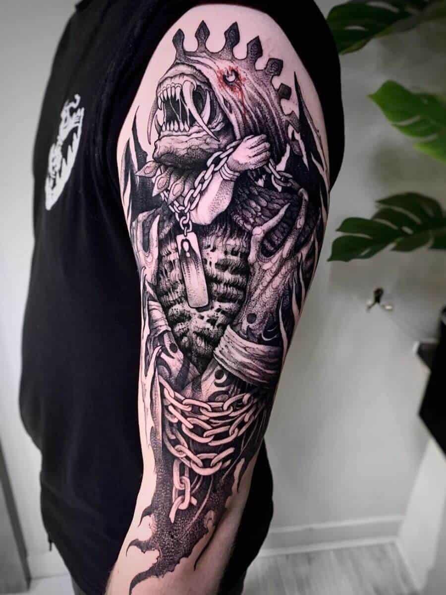 final fantasy 10 sleeve tattoo