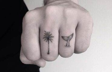 Inspirational Palm Tree Tattoos