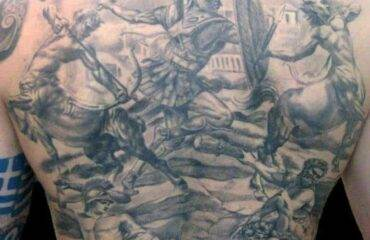 Powerful God of War Tattoos
