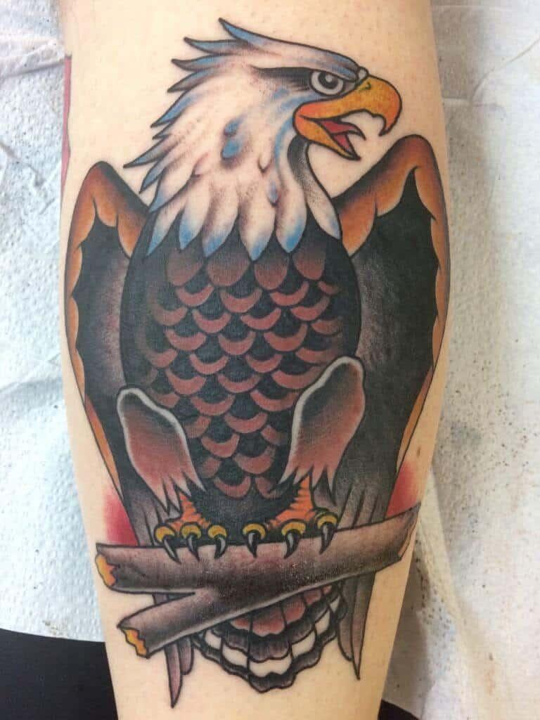 sailor jerry eagle tattoo