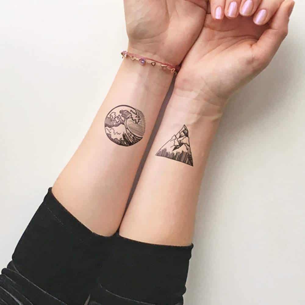 ocean arm tattoo