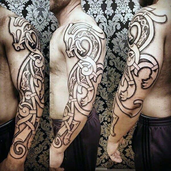 celtic tattoo on arm