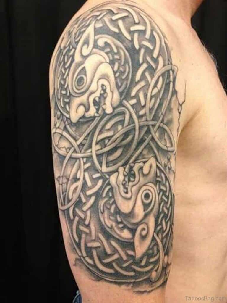 celtic arm tattoo