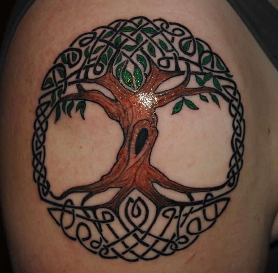 tree of life celtic tattoo
