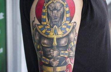 Amazing Anubis Tattoo Ideas