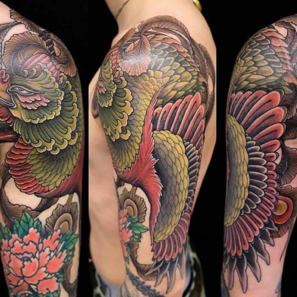 irezumi arm tattoo