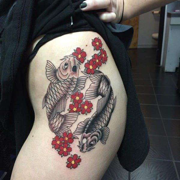 tattoo on hip
