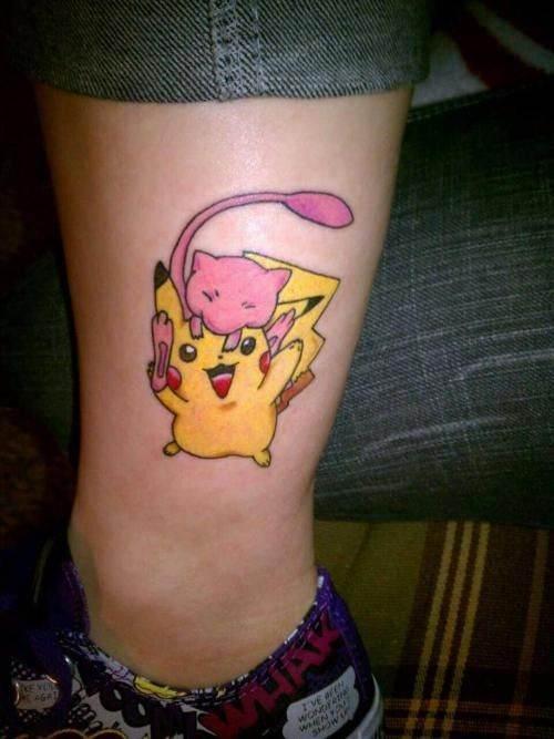 Pokémon Lovers Tattoo