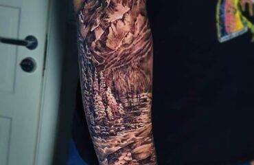 Wild Forest Tattoo Ideas