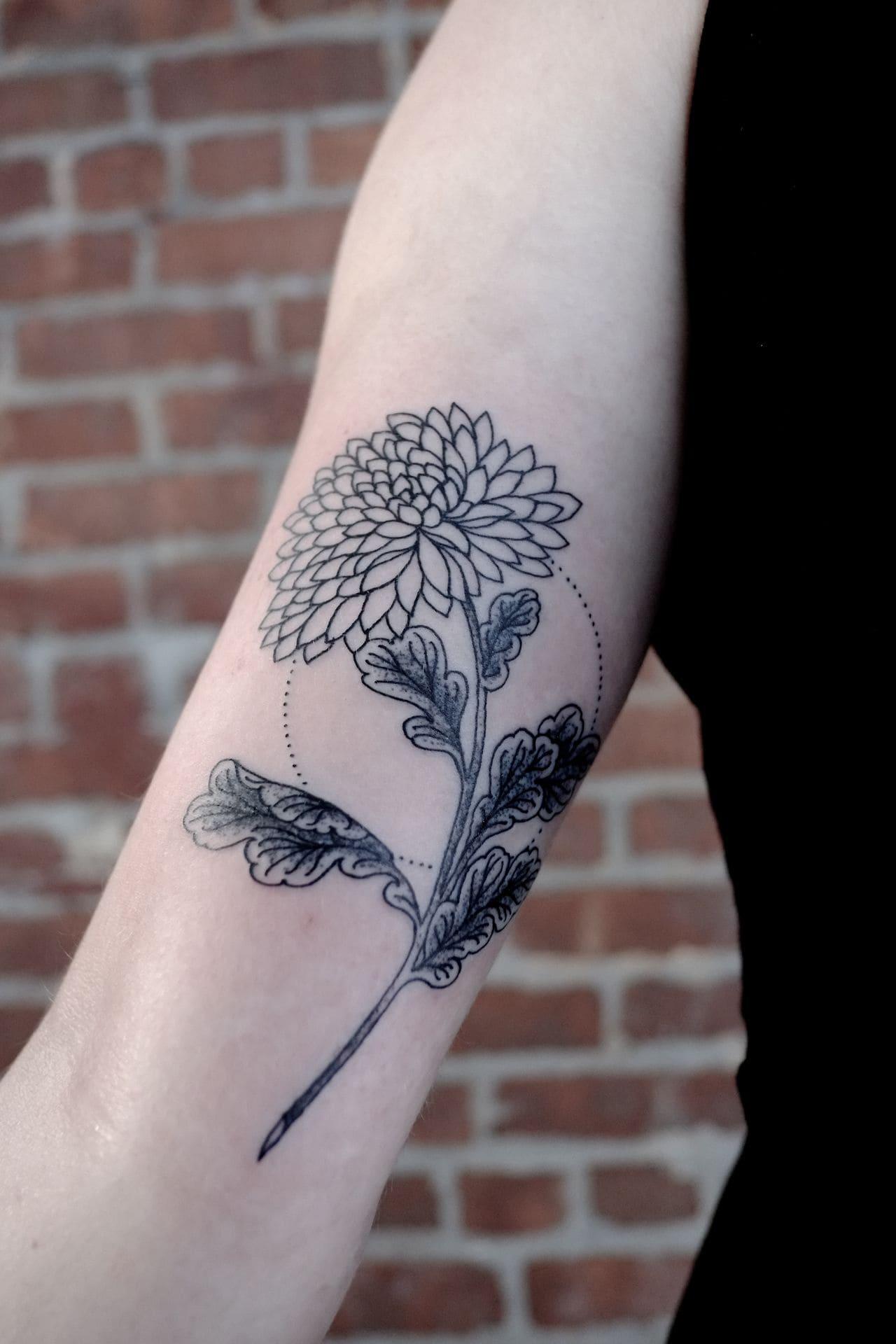 Chrysanthemum Tattoos