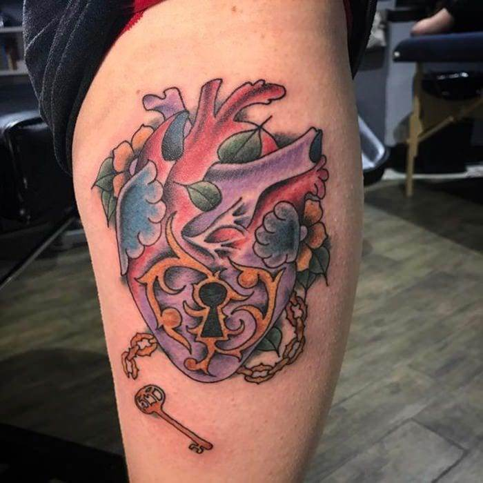 lock-and-key-tattoos