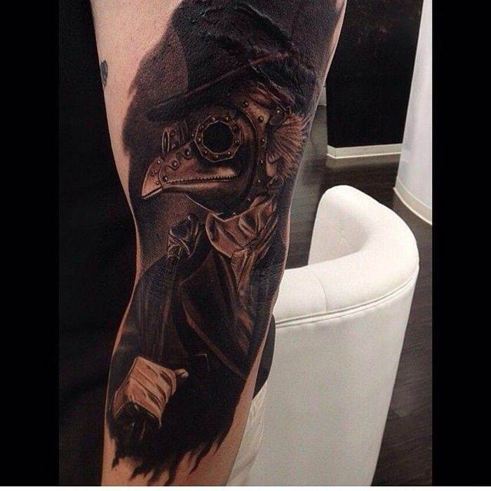 plague-doctor-tattoo