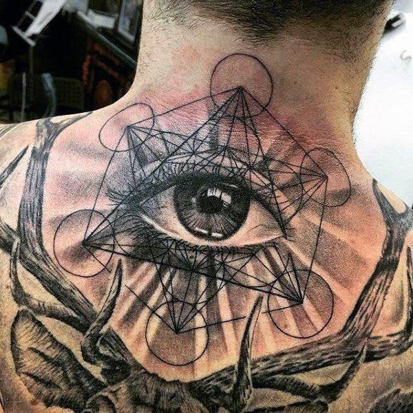 The Geometric Eye Tattoo
