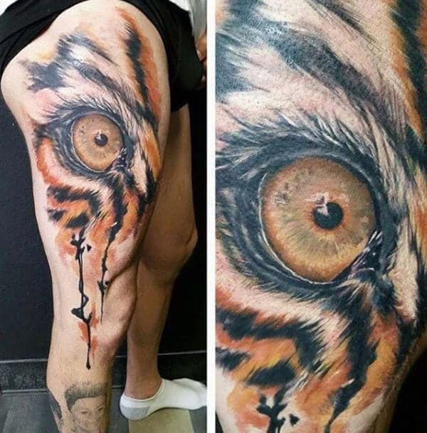 The Eye of the Tiger Tattoo