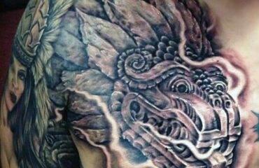 Masculine Aztec Tattoo Ideas