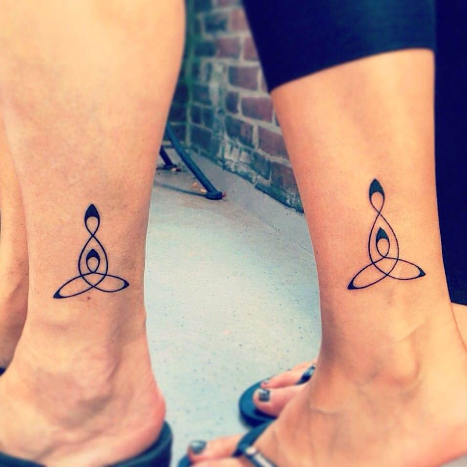 celtic mother daughter tattoo
