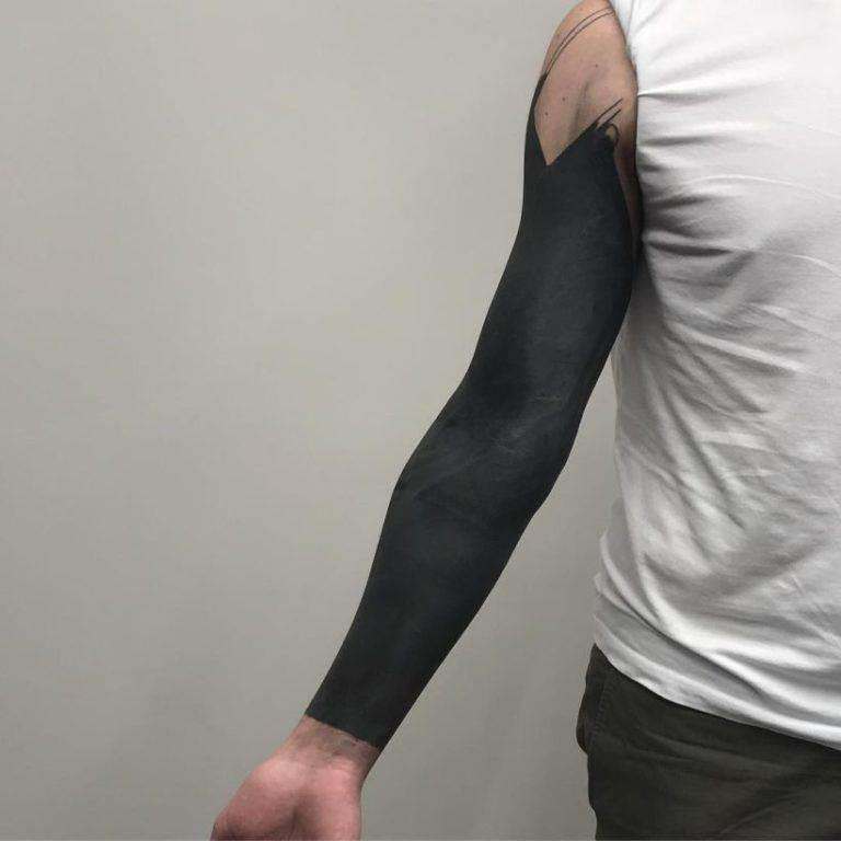 blackout sleeve tattoos