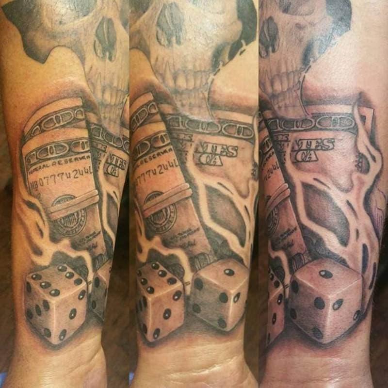 money-tattoos