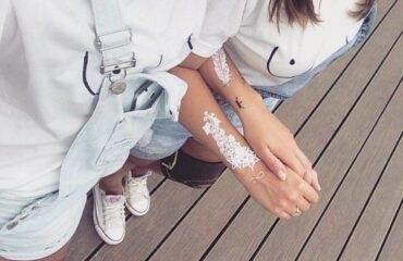Best White Ink Tattoos Ideas