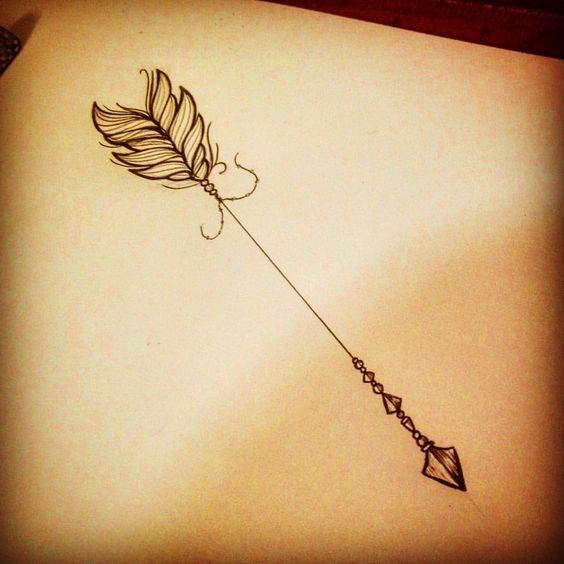 Amazing Arrow Tattoos for Female