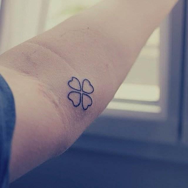 Get-Lucky Tattoo for women
