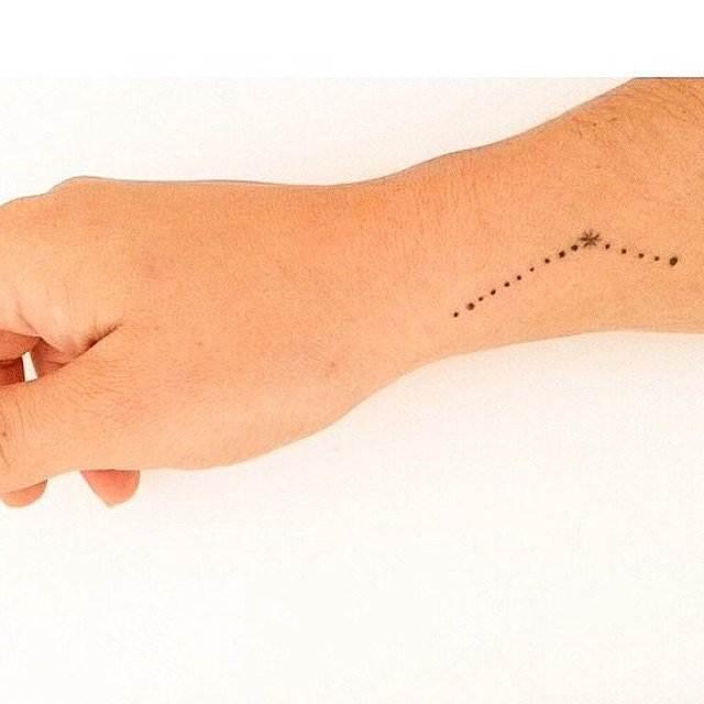 Stars Tattoos for ladies