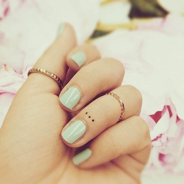 Nano-Dots Tattoo for women