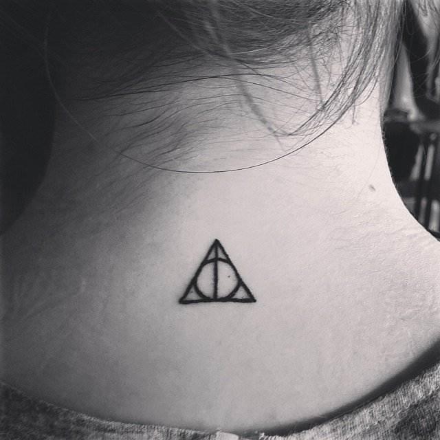 Harry-Potter-Fan tattoo for women