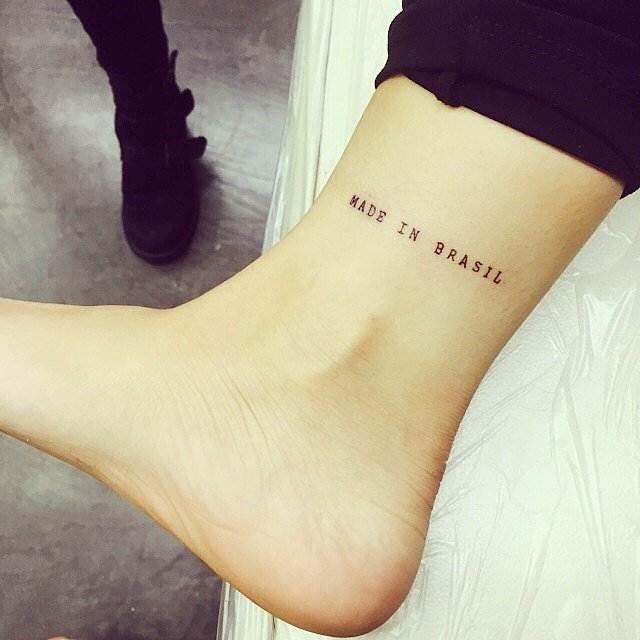 Made-Brasil Tattoo for female