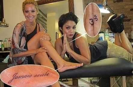 Ashley Tisdale's tattoos