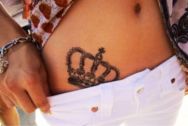 Crown Tattoo Designs