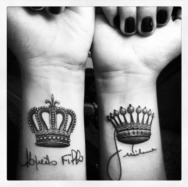 Queen Crown Tattoos