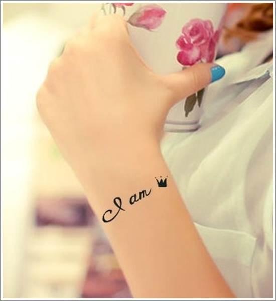 Cute Small Crown Tattoo Designs
