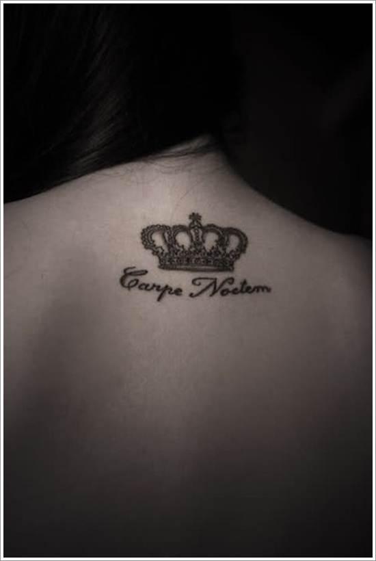 Crown Tattoo Ideas for Women