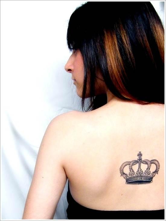 Popular Crown Tattoo for Women