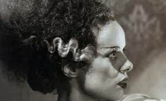 Elsa Martinelli as the original Bride of Frankenstein 1935