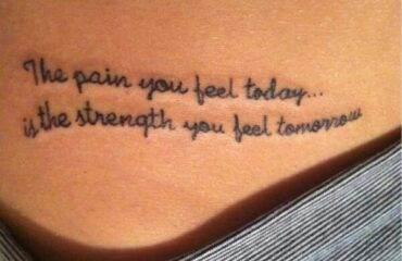 Written Tattoo Designs