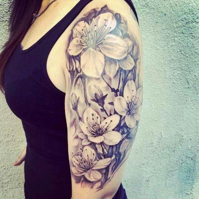 Beautiful Half Sleeve Tattoo