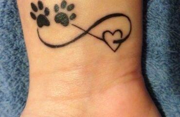 Funny Paw Tattoo Designs