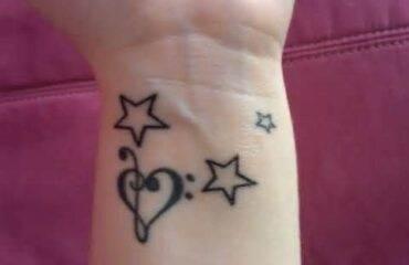 Star Tattoos for Pretty Girls