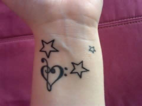Small Tattoo on Wrist