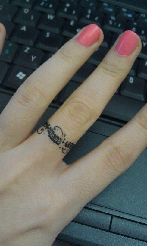 Ring-like Tattoo