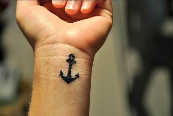 An Anchor Tattoo