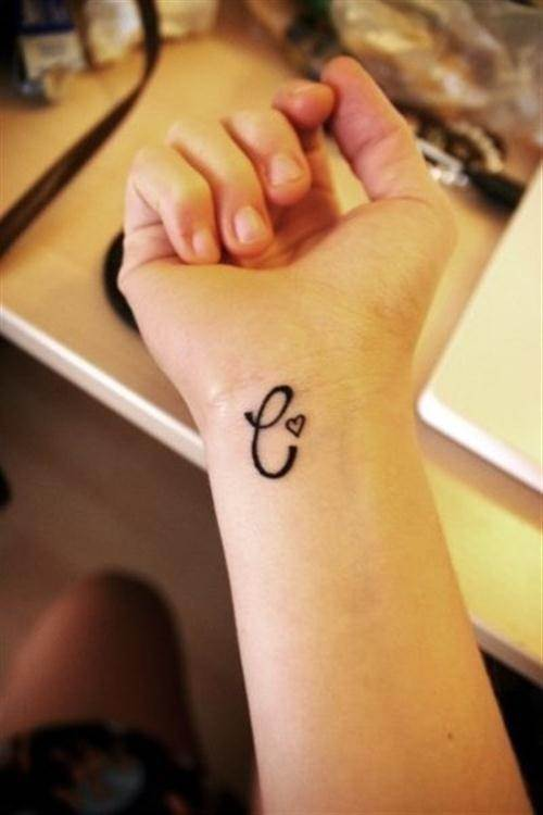 Simple Wrist Tattoo