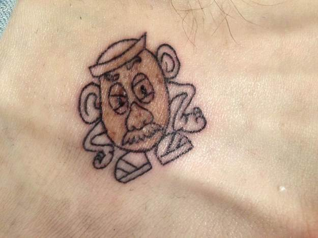 Angry Man Tattoo