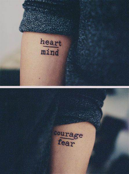Easy Quote Tattoo